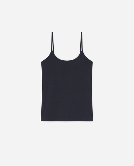 T-shirt with thin straps