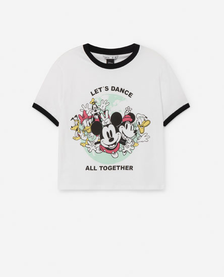 Camiseta crop MIckey Mouse ©Disney