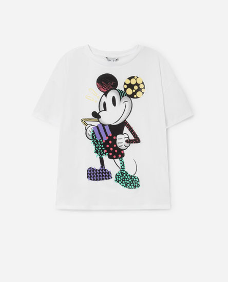 Camiseta Mickey y Minnie Mouse ©Disney