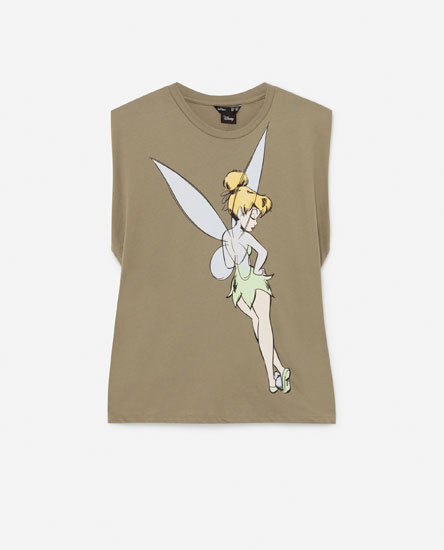 Disney T-shirt with shoulder pads