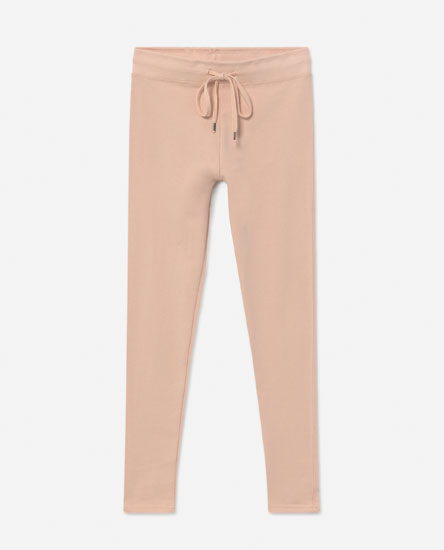 Basic fitted tracksuit bottoms