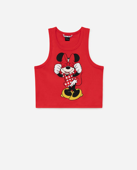 Top com estampado © Disney