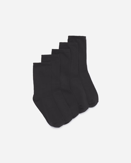 5-pack of basic long socks