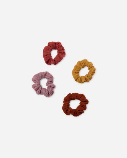 Pack of 4 scrunchies
