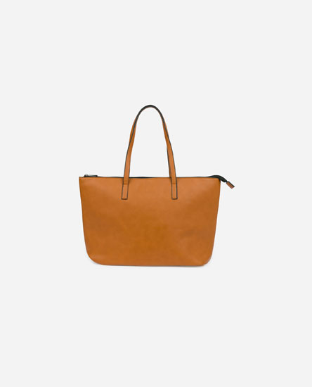 Coloured tote bag