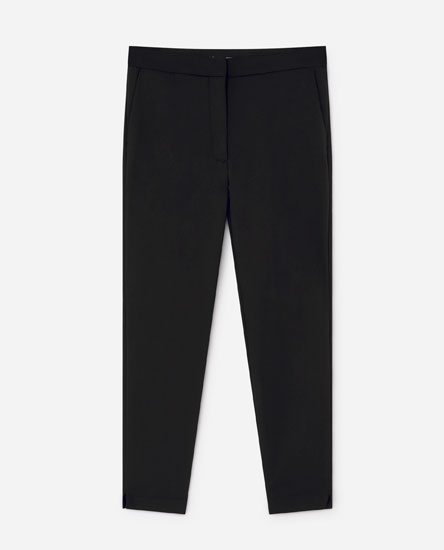Stretch-waist trousers