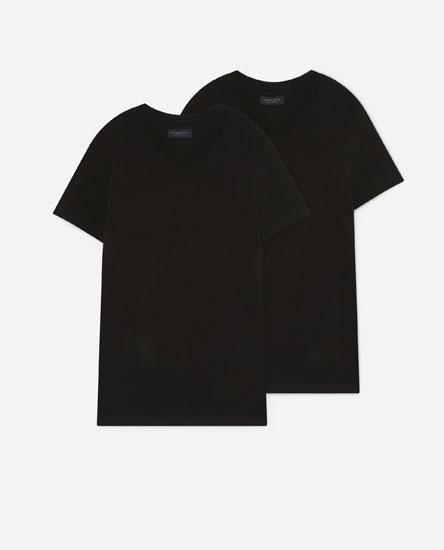 2-Pack of V-neck T-shirts