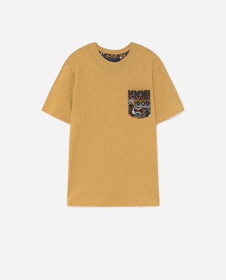 Camiseta peto contraste