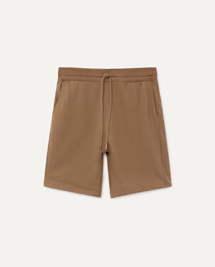 Basic Jogging Bermuda Shorts
