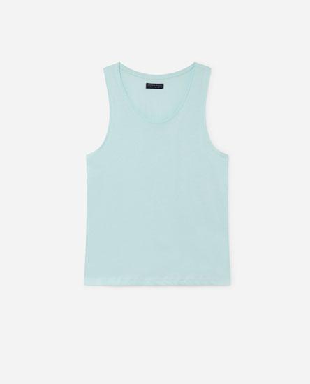 Camiseta sen mangas