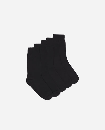 5-Pack of Long Socks
