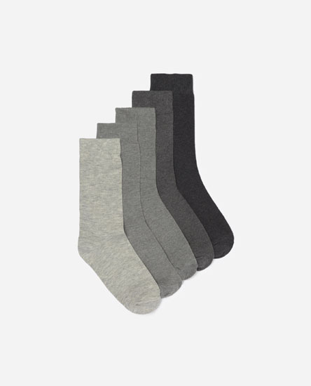 Pack of 5 long socks