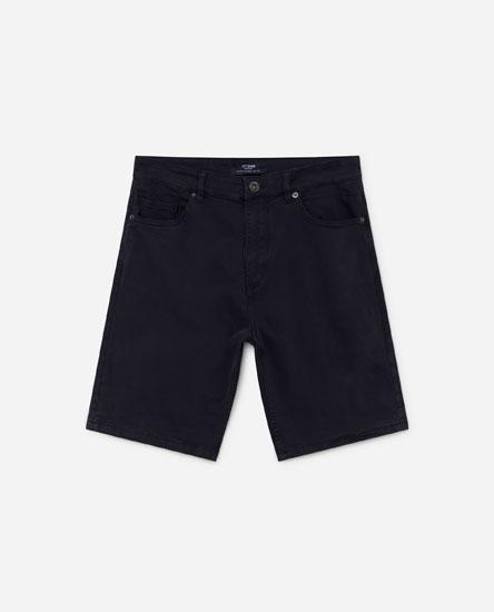 Denim Bermuda shorts