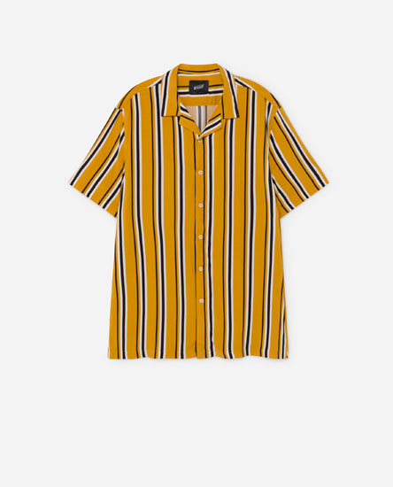 Two-tone striped shirt