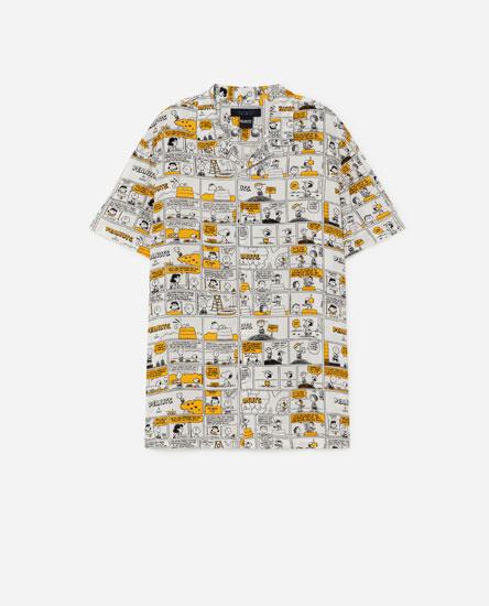 Peanuts print shirt