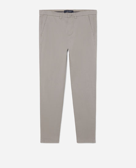 Skinny fit chinos