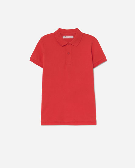 Coloured polo shirt