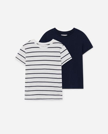Paquet samarretes màniga curta