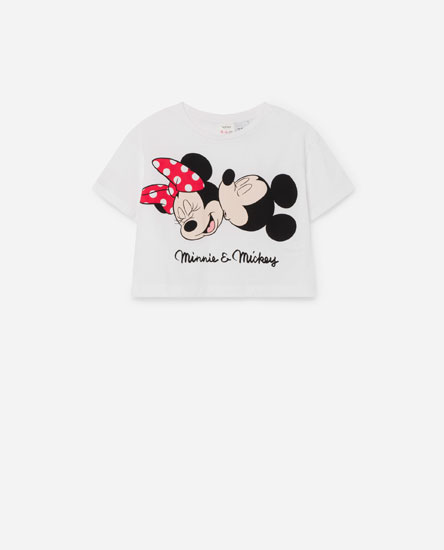 Cropped © Disney T-shirt