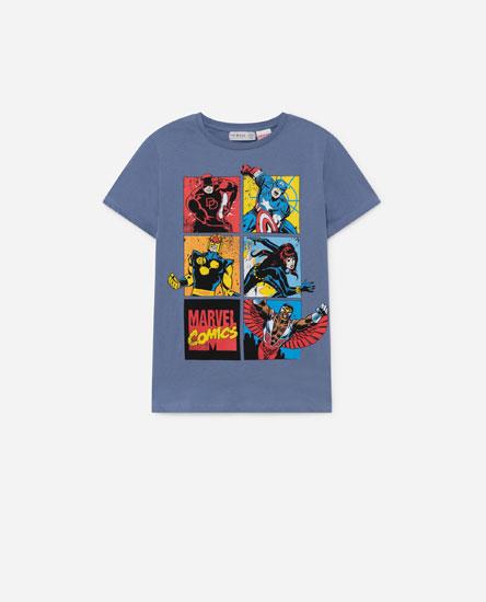 Camiseta print Marvel