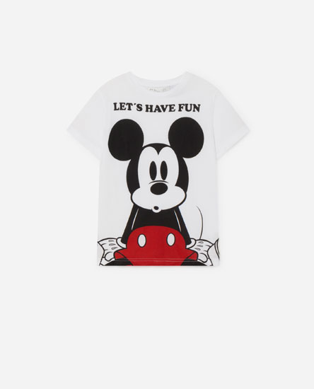 Mickey Mouse © Disney slogan T-shirt
