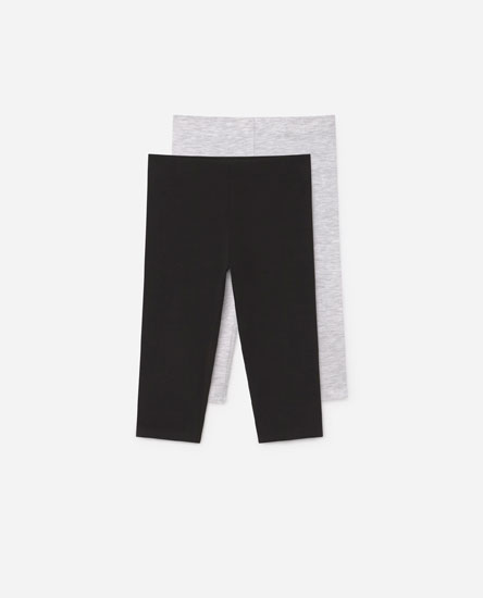 Pack of 2 legging shorts