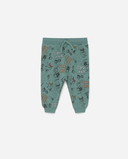 Pantalón felpa Peanuts