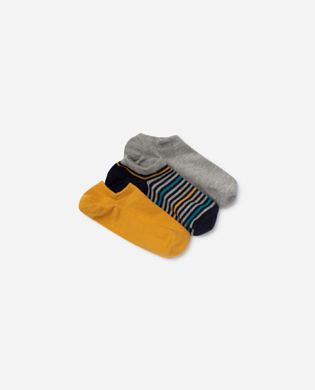 3-pack of striped socks