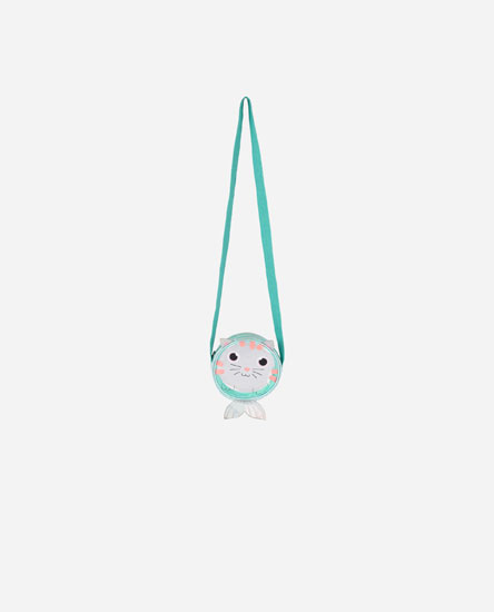 Mermaid Cat Crossbody Bag