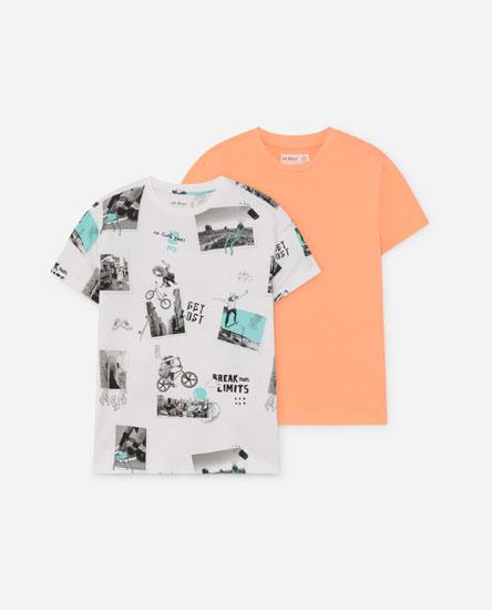 2-pack Of Basic Skate T-shirts