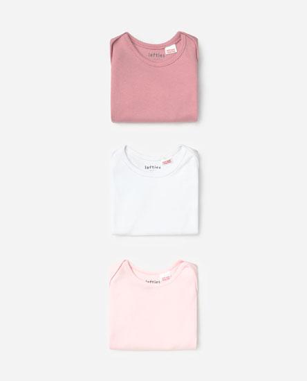 3-pack Of Short Sleeve Bodysuits