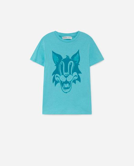 Placement print T-shirt