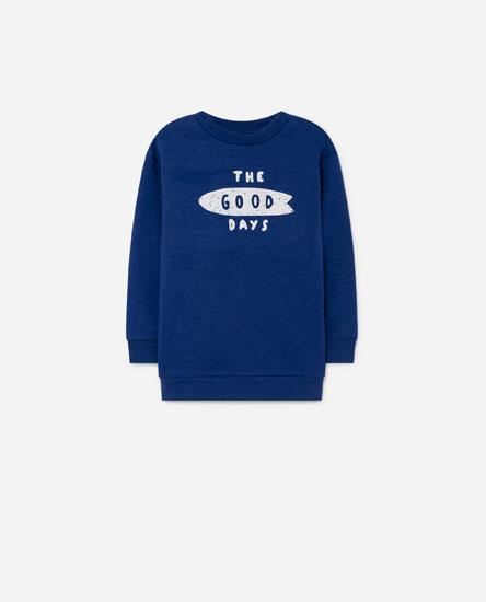 Basic Sweatshirt with Print