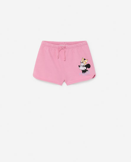 Short estampado Minnie Mouse