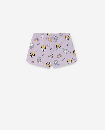 Short estampado Minnie & Daisy