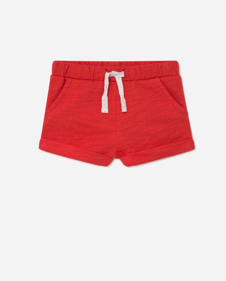 Pantalón curto cor