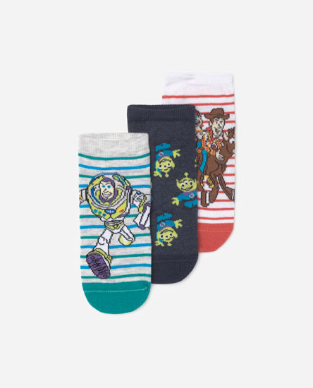 Pack of 3 pairs of Toy Story ® Disney ankle socks