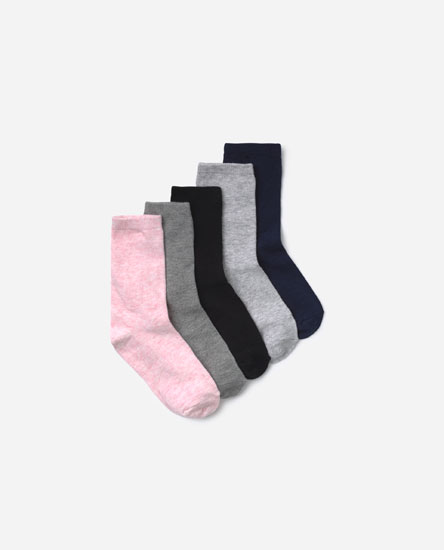 Pack of long socks