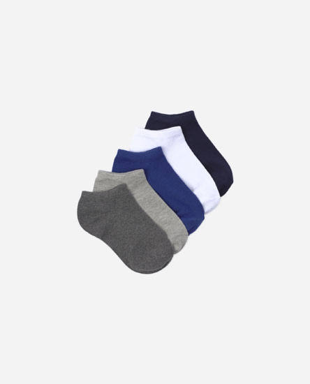 Pack of 5 coloured socks