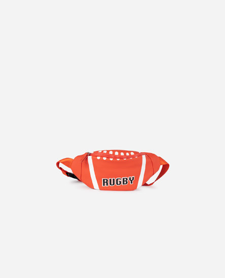 RUGBY EFFECT BELT BAG