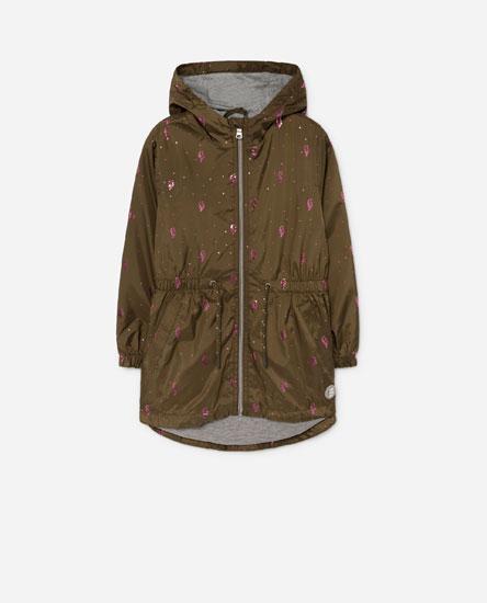 Long lightweight jacket
