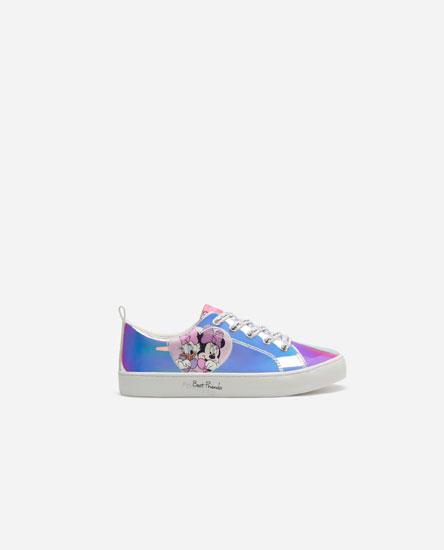Minnie & Daisy © Disney iridescent sneakers
