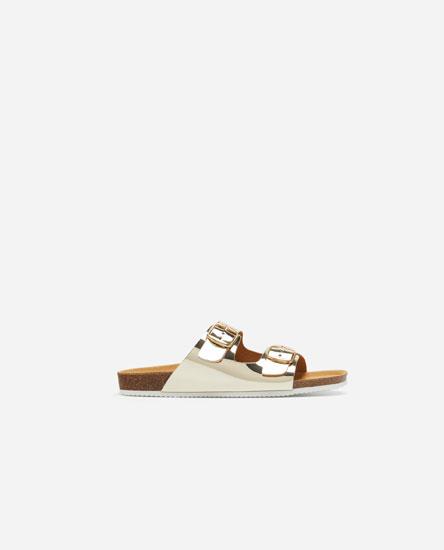 Buckled bio sandals