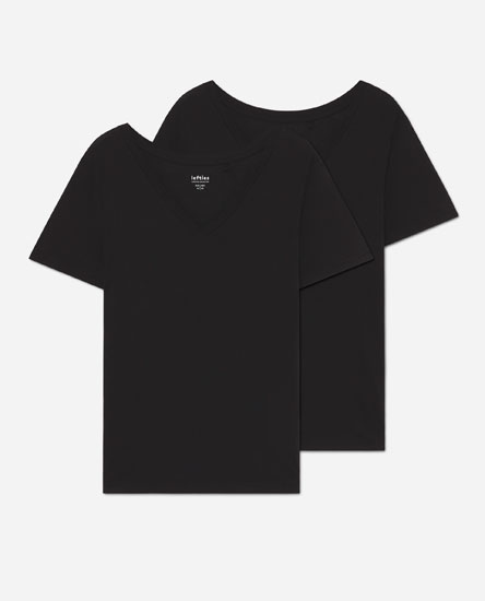 Pack of V-neck T-shirts