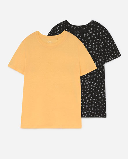 Pack of  round neck T-shirts