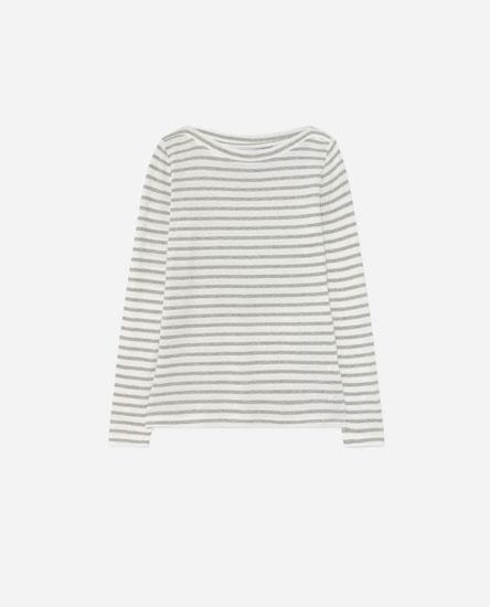 Camiseta cuello barco rayas