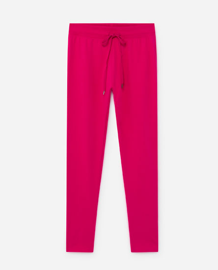 Fitted tracksuit bottoms