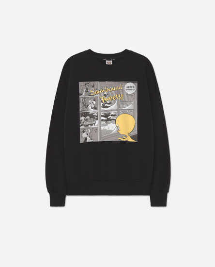 Tweety logo sweatshirt
