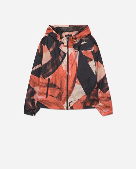 Printed track jacket