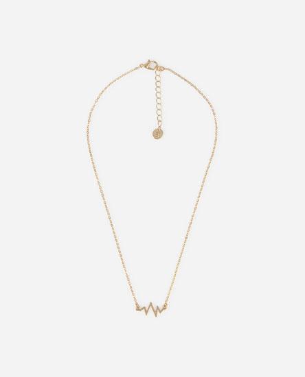 Electric bolt necklace